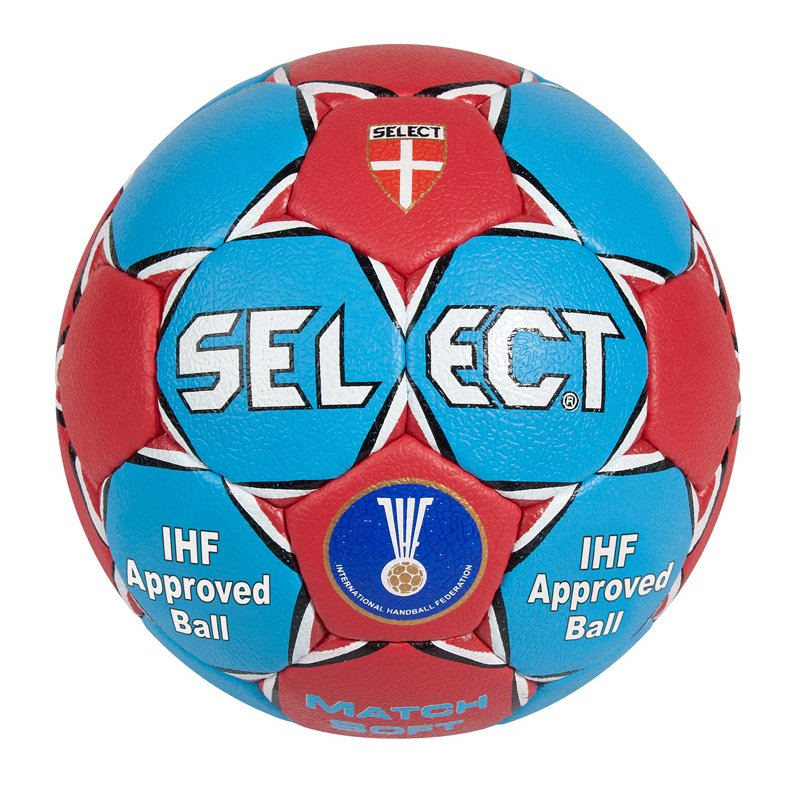 Select Handball Match Soft blau/rot