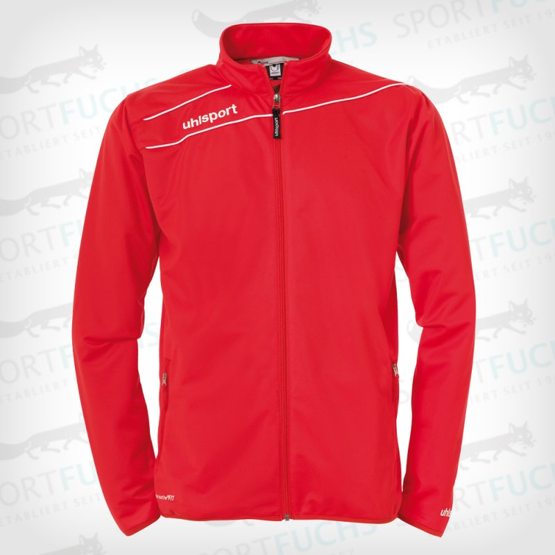 uhlsport Trainingsjacke Stream 3.0 Classic rot/weiß L