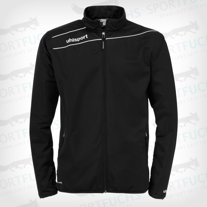 uhlsport Trainingsjacke Stream 3.0 Classic schwarz/weiß XL