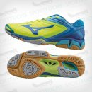 Mizuno Wave Stealth 3 NeoYellow/Blue/BlueAtoll