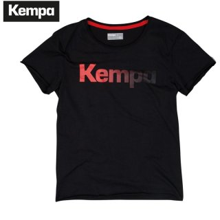 Kempa STATEMENT T-SHIRT schwarz
