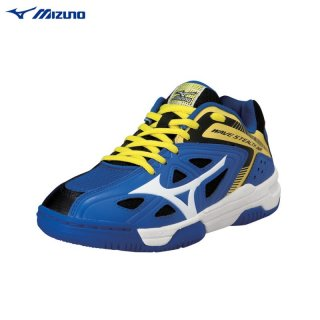 Mizuno Wave Stealth 3 Jnr Blue/White