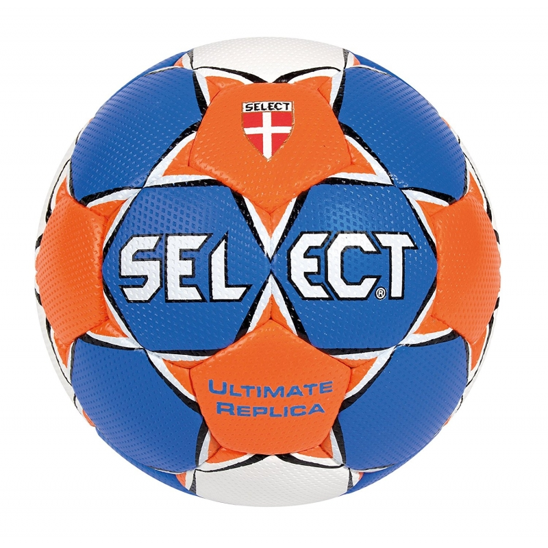 Select Handball Ultimate Replica weiß/blau/orange 3
