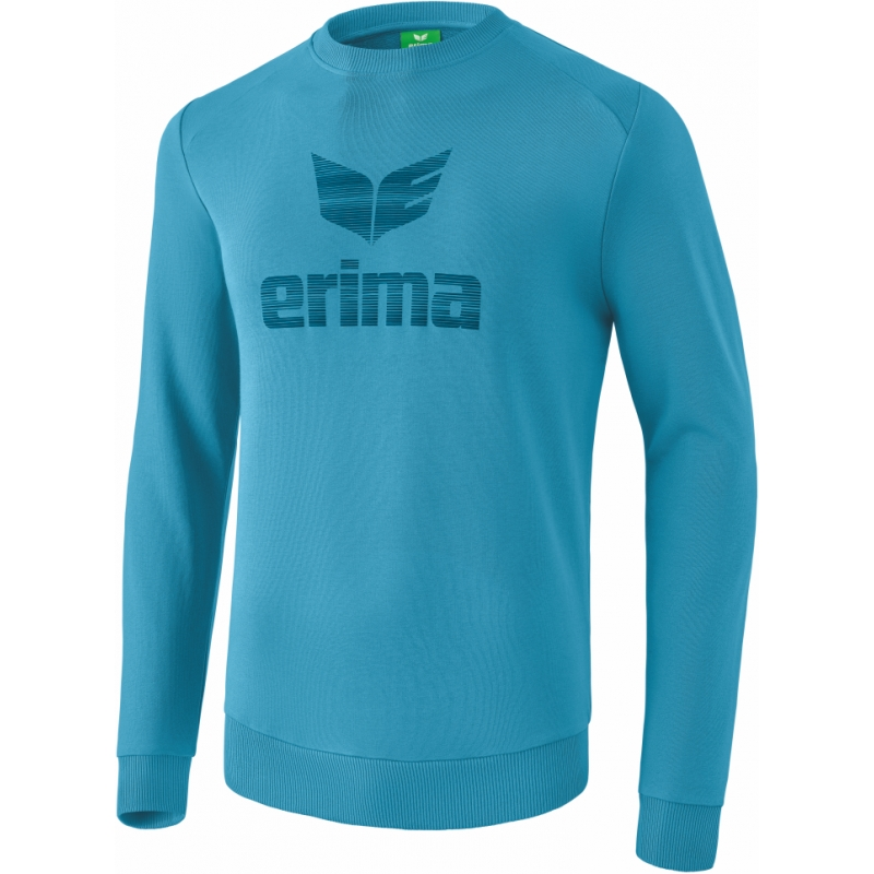 erima Essential Sweatshirt niagara/ink blue S