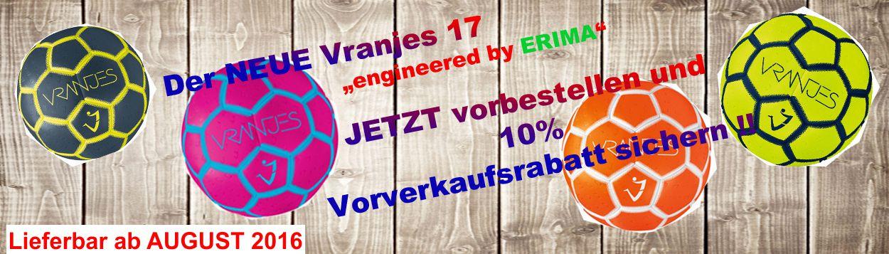 Der neue VRANJES 17 engerneered by erima