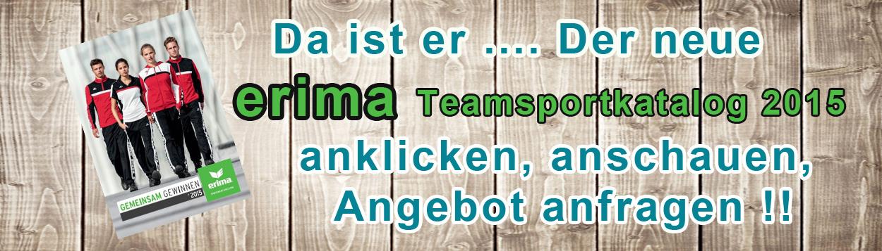 Der neue erima-Teamsport-Katalog ist da